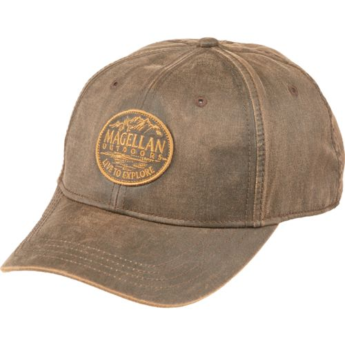 Magellan Outdoors Men's Fishing Circle Patch Wax Hat