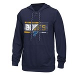 Reebok Men's St. Louis Blues Face Off Freeze Stripe Performance Fleece Hockey Hoodie