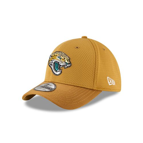 New Era Men's Jacksonville Jaguars 39THIRTY Onfield Color Rush Cap