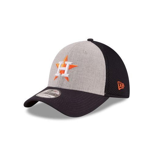New Era Men's Houston Astros 39THIRTY Heathered Neo Cap