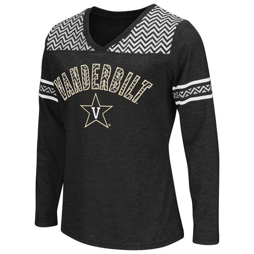 Colosseum Athletics™ Girls' Vanderbilt University Cupie Long Sleeve Shirt