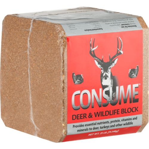 Display product reviews for Consume 25 lb Deer Block