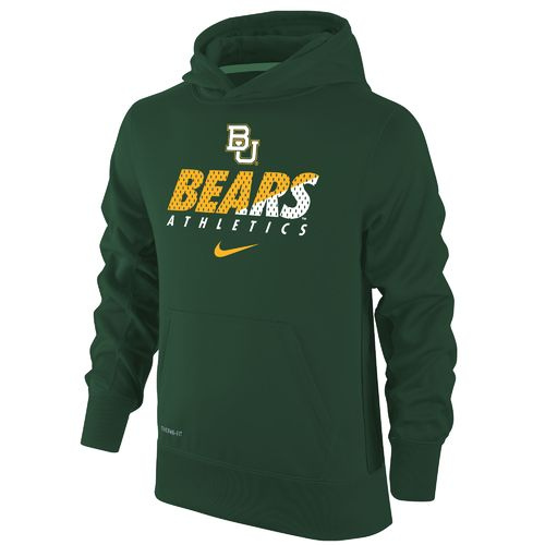 Nike Boys' Baylor University Therma-FIT KO Hoodie