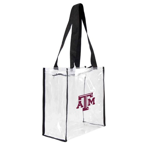 Little Earth Productions Texas A&M University Clear Square Tote Bag - view number 1