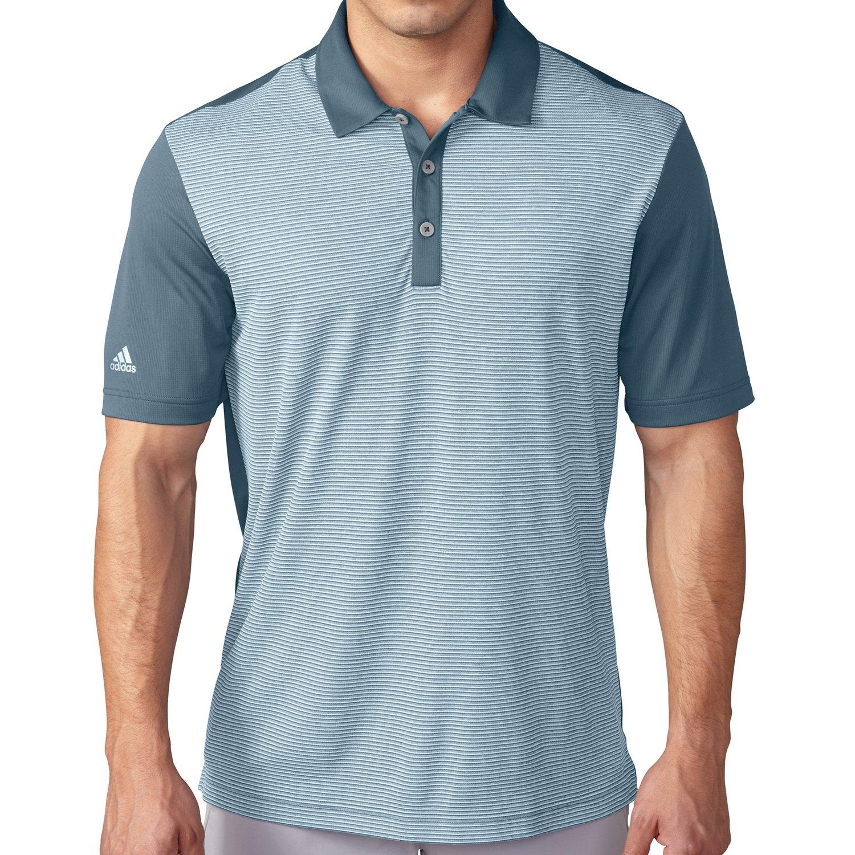 adidas™ Men's climachill™ Heather Stripe Polo Shirt