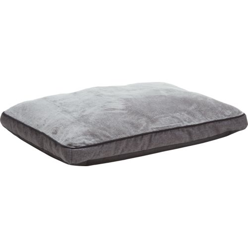 Dallas Manufacturing Company 30 in x 40 in Gusseted Faux-Linen Textured Dog Bed