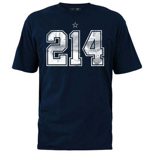 Dallas Cowboys Men's Zeke Elliott & Dak Prescott 214 Area Code T-shirt