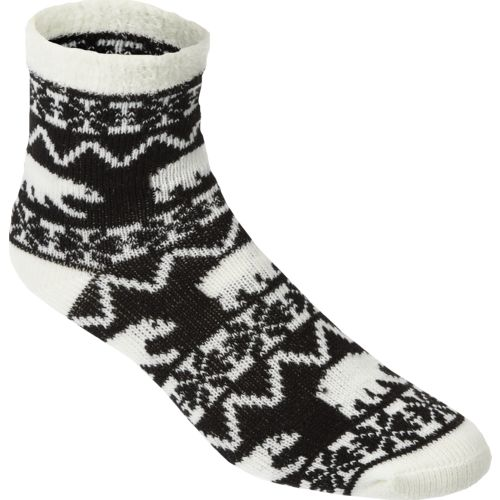 Sof Sole™ Women's Fireside Indoor Polar Bear Crew Socks