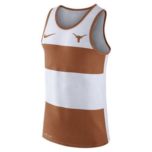 Nike Men's University of Texas Stripe Tank Top