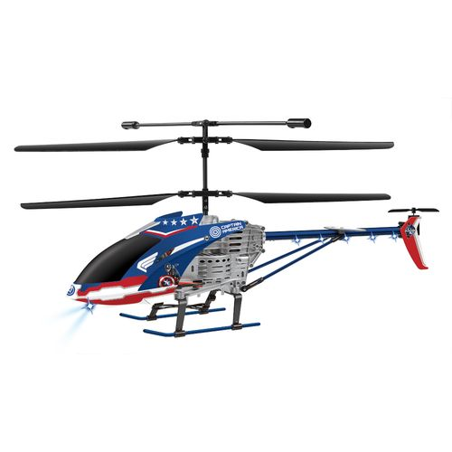 World Tech Toys Marvel Avengers Age of Ultron Captain America 3.5 Channel RC Helicopter - view number 1