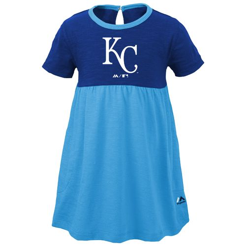 Majestic Toddler Girls' Kansas City Royals 7th Inning Twirl Dress