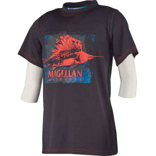 Magellan Outdoors Boys' Reflective Sailfish Graphic T-shirt
