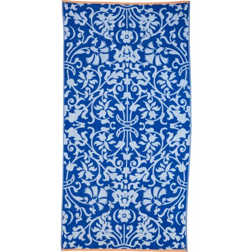 O'Rageous Damask Jacquard Beach Towel