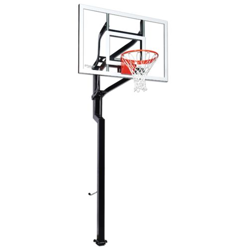 Goalsetter Signature Series Contender 54' Tempered-Glass Inground Basketball System