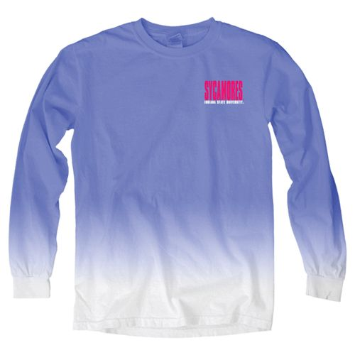 Blue 84 Women's Indiana State University Ombré Long Sleeve Shirt - view number 2