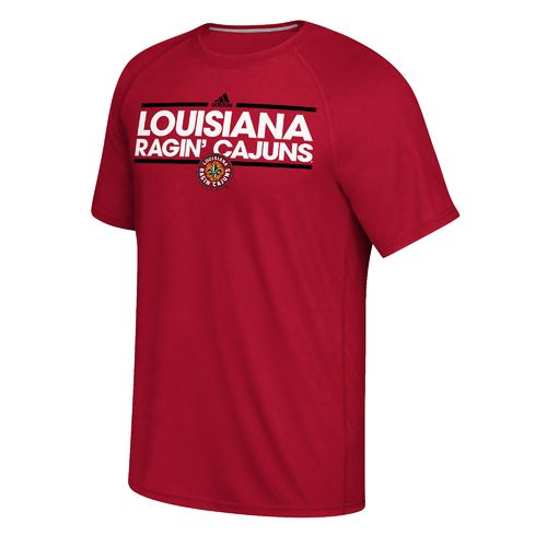 adidas Men's University of Louisiana at Lafayette Dassler Ultimate Short Sleeve T-shirt