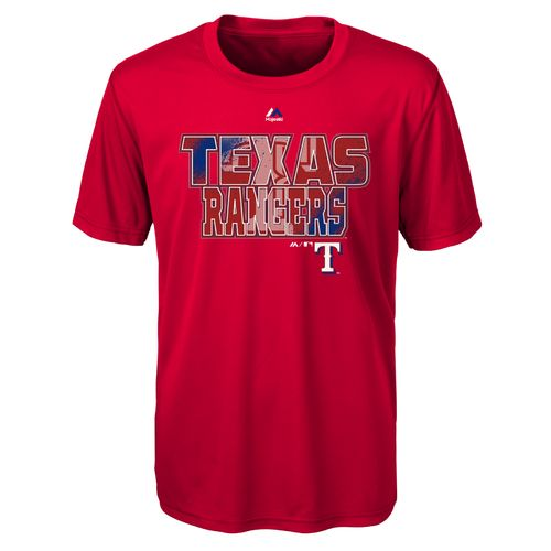 Display product reviews for MLB Boys' Texas Rangers Spark T-shirt