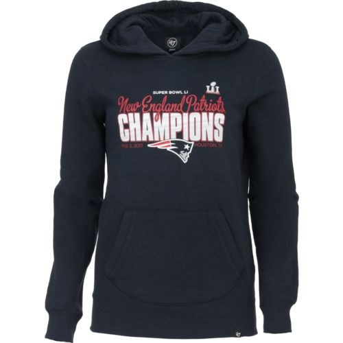 '47 Women's New England Patriots Super Bowl 51 Champs '16 Headline Hoodie