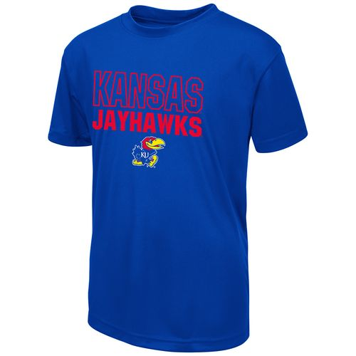 Colosseum Athletics Boys' University of Kansas Team Mascot T-shirt