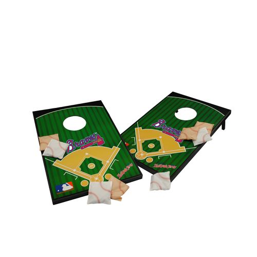 Wild Sports Atlanta Braves Tailgate Bean Bag Toss Game