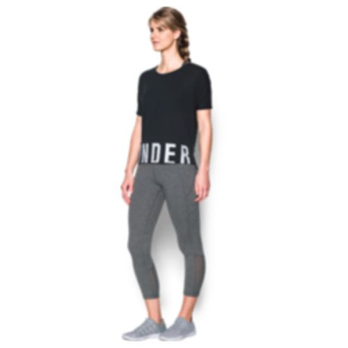 Under Armour Women's Wordmark Hem Cropped Top - view number 5