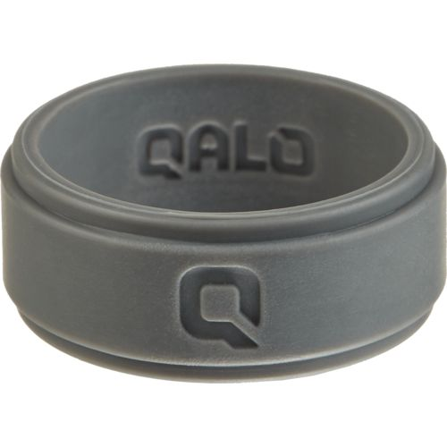 Display product reviews for QALO Men's Step Edge Q2X Flat Silicone Wedding Ring