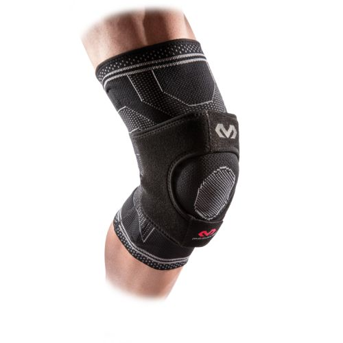 McDavid Elite Engineered Elastic Knee Support with Dual Wrap and Stays