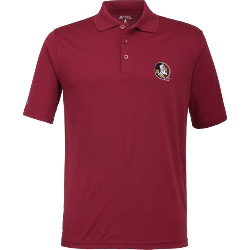 Antigua Men's Florida State University Pique Xtra-Lite Polo Shirt