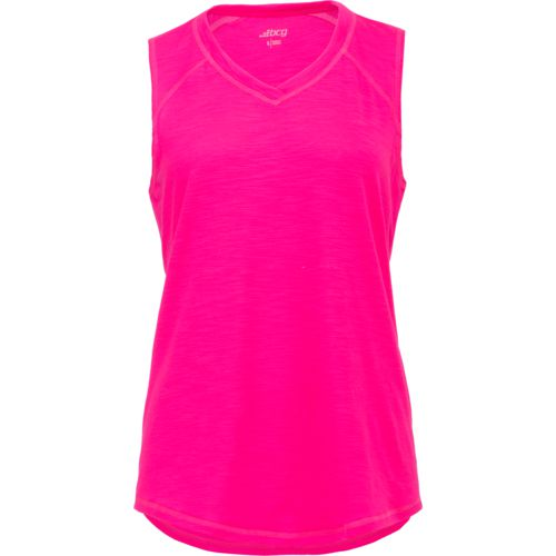 BCG Women's Explorer Slub Solid V-neck T-shirt
