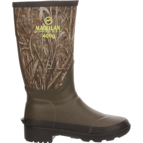Magellan Outdoors Boys' Camo Jersey Knee Boot III Hunting Boots