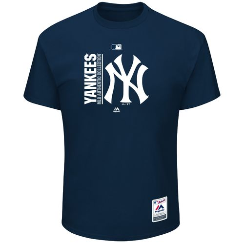 Majestic Men's New York Yankees Authentic On Field Team Icon T-shirt