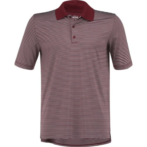 Display product reviews for BCG Men's Golf Mini Stripe Tru-Wick Short Sleeve Polo Shirt