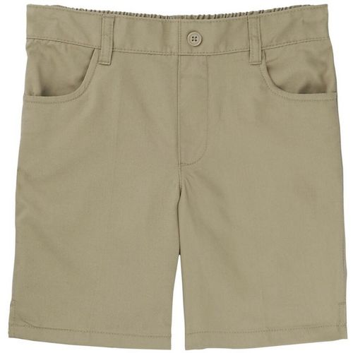 French Toast Girls' Plus Size Pull-On Uniform Short