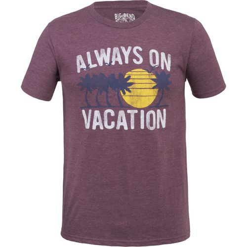 Big Bend Outfitters Men's Always On Vacation T-shirt - view number 1