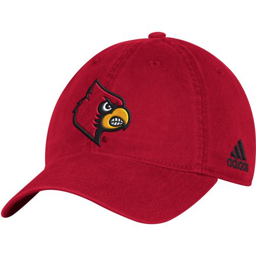 adidas Men's University of Louisville Big Logo Slouch Adjustable Cap
