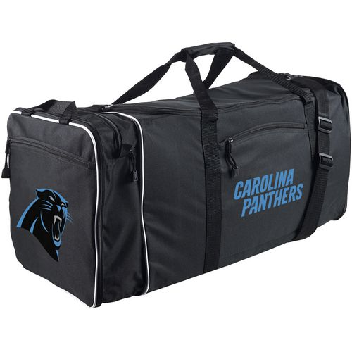 The Northwest Company Carolina Panthers Steel Duffel Bag