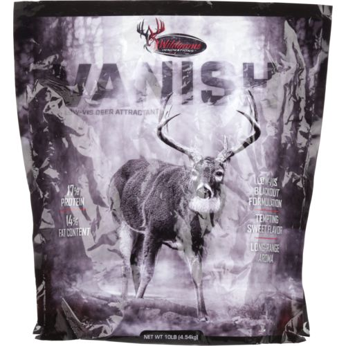 Display product reviews for Wildgame Innovations Vanish 10 lb Deer Attractant