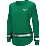 Colosseum Athletics Women's University of North Texas Humperdinck Oversize Long Sleeve T-shirt - view number 1
