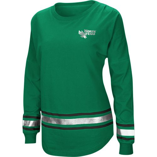 Colosseum Athletics Women's University of North Texas Humperdinck Oversize Long Sleeve T-shirt