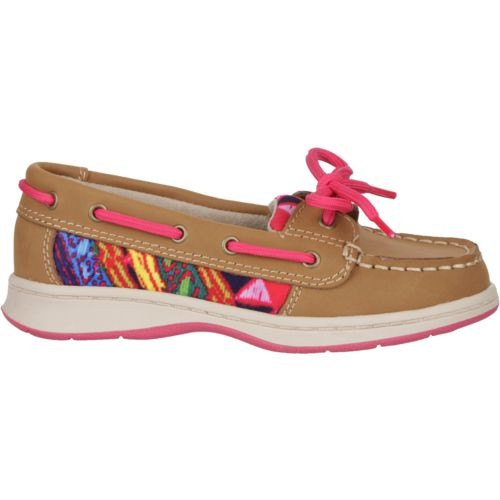 Austin Trading Co.™ Girls' Leather Boat Shoes