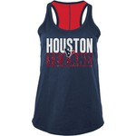 5th & Ocean Clothing Women's Houston Texans Glitter Tank Top - view number 1