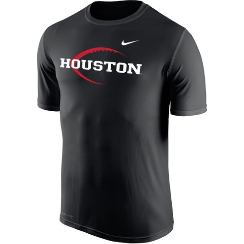 Nike Men's University of Houston Dri-FIT Legend 2.0 Icon T-shirt