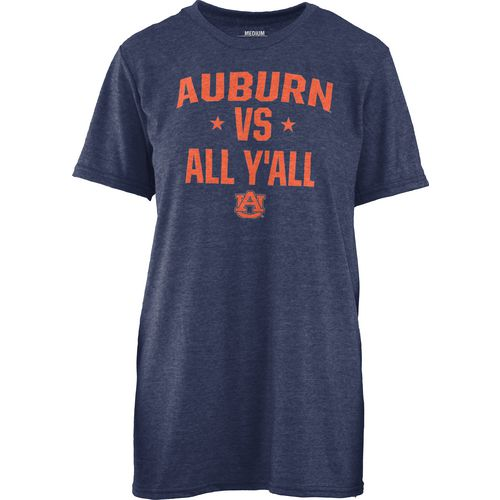 Three Squared Women's Auburn University Vs. All Y'all T-shirt