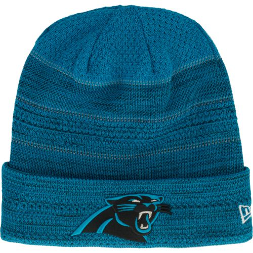 New Era Men's Carolina Panthers Cold Weather TD Knit Cap