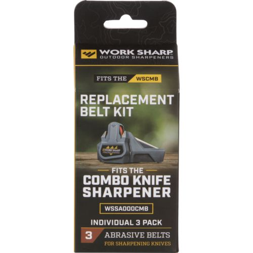 Work Sharp 1/2 in x 10 in P120 Replacement Belt Kit - view number 1