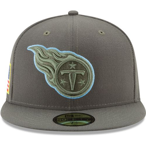 New Era Men's Tennessee Titans Salute to Service '17 59FIFTY Cap