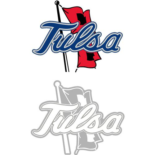 Stockdale University of Tulsa 4' X 7' Logo Decals 2-Pack