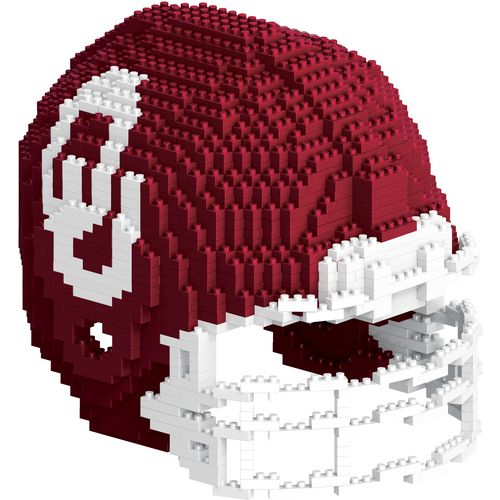 Forever Collectibles University of Oklahoma 3-D BRXLZ Helmet Puzzle