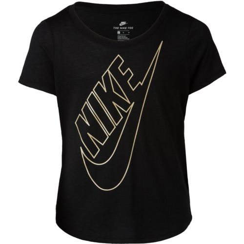 Nike Girls' Sportswear Jeweled Futura T-shirt