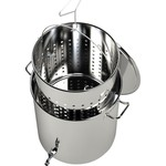 Breauxs 60 qt Stainless-Steel Pot - view number 3